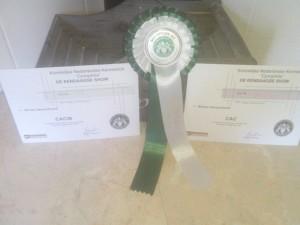 Prijs en certifikaarten